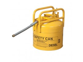 Can, Fuel Transport. Dot Approved 5gal, Yellow / Drop Ship Only