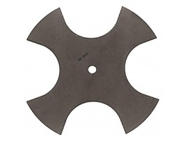 Edger Blade 9in 4-tooth 1/2in Ch