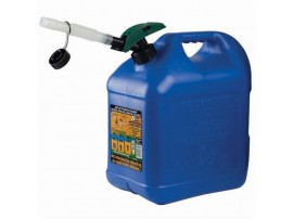 Can, Gas 5+ Enviro-flo Plus Kerosene / This New And Conveniently Sized Kerosene Container Features Our Innovative, Easy To Use, Enviro- Flo» Spout And Is Ideal For Smaller, Indoor Heaters.àà Holds 2 Gallons, 8 Ounces Of Kerosene And Meets California Air R