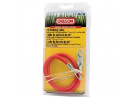 """Battery Cable, Red, 20"""" In Clamshell Packaging"""