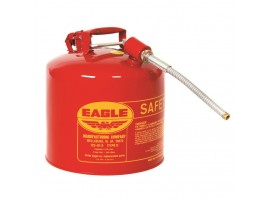 Fuel Can, Metal 5gal, 12in Flex Spout