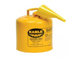 Fuel Can, Metal 5gal, Yellow